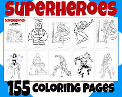 Let us know what's wrong with this preview of superman coloring book by white bear books. Superman Coloring Book Etsy
