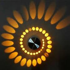 Wall lighting effects Mood 2017 New Spiral 3w High Power Led Wall Light Fixture Lamp Bulb Hotel Walkway House Decor Dhgate 2017 New Spiral 3w High Power Led Wall Light Fixture Lamp Bulb Hotel