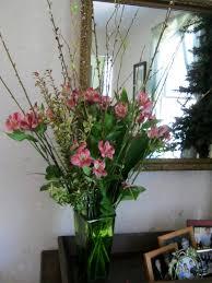 Blog April 038. I put together this floral arrangement ...