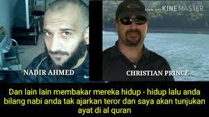 EXCLUSIVE : Rekaman kaburnya christian prince dari debat melawan nadir  ahmed - YouTube