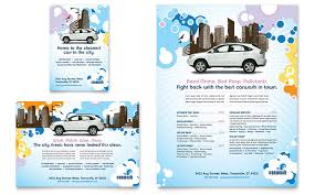 Car Dealership Flyer Templates Car Wash Flyer Ad Template Word Publisher