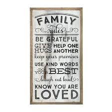 wall art family rules wooden wall art family rules eta early occasionally made whole gifts accessories