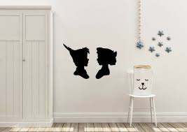 furniture stickers peter pan and wendy