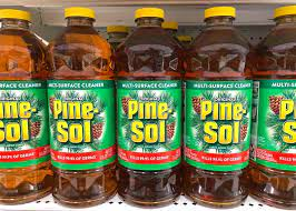 can you use pinesol on carpet find