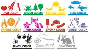colors for kids. Plain Kids Learning The Colors For Kids Animals Objects And Preschool  Children Education On Colors For Kids