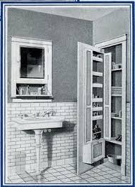bathroom design 1920s house. 1920\u0027s bath storage. \ bathroom design 1920s house