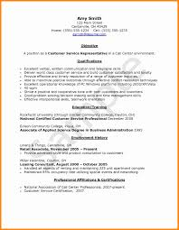 Call Center Representative Resume Sample Call Center Representative Resume Sample Shalomhouseus 14