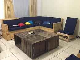 wooden pallet crate style coffee table