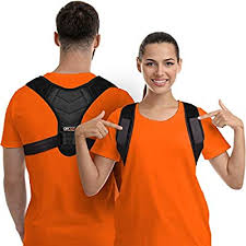 <b>Posture Corrector</b> for Men and Women - Upper Back Brace ...