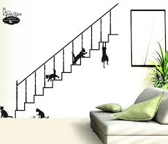 fashion wall decor cute cat fashion wall stickers funny cat stickers living room decor wall decor fashion wall decor