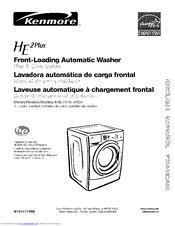kenmore he2 washer. Fine Washer Kenmore HE2 Plus 1104751 Series Use U0026 Care Manual Throughout He2 Washer I