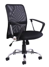office chair controls. Office Essentials Mesh Height Adjustable Chair With Torsion Control - Black Controls