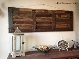 rustic decorating ideas for bedrooms floor decor s complaints wood wall reclaimed art love e stencil