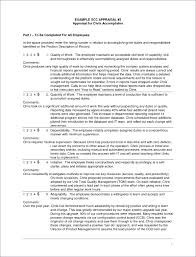 Sample Annual Performance Review Annual Reviews Examples Under Fontanacountryinn Com