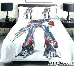 transformer bedding set transformer bed sheets transformers bedding set best gift for teenagers printed the car