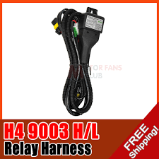 h4 hid conversion kit wiring diagram wiring diagram and hernes conversion kit bi xenon relay wiring harness for h4 h13 9004