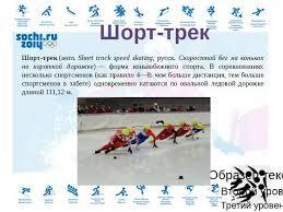 Презентация по физической культуре на тему Зимние Олимпийские  Са́нный спорт нем rennrodeln англ luge зимний олимпийский вид спорта