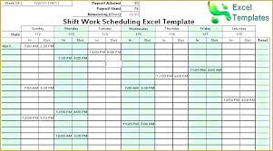 Schedule Maker For Work Schedule Maker Template Class Schedule Template Excel Maker Blank