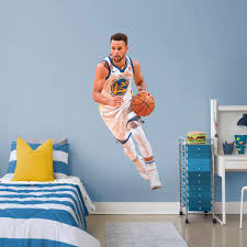 stephen curry life size officially licensed nba removable wall decal fathead