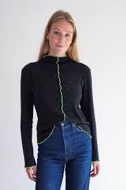 The Ida Sweater in Black - Shayne | luxury clothing sizing 0-18