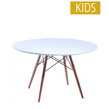 charles ray eames inspired kids round table white free uk delivery