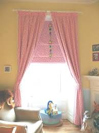 curtains for a baby nursery pink room girl roman blind blackout