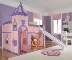 Princess Castle Bedroom Princess Castle Low Loft Bed Twin Size Girls White Playhouse