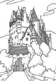 Kleurplaat Kasteel Kleurplaat Castle Coloring Page Coloring
