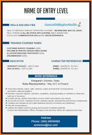 New Resume Format 2014 Good Resume Examples