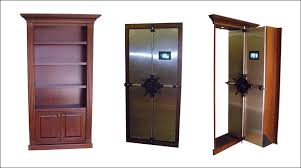 traditional hidden home office. Bookcases:Bookcase Gun Cabinet Hidden Safe Traditional Home Office By Cabinets