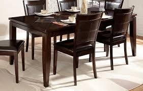 black wood rectangular dining table. Charming Dining Room Furniture Using Acacia Wood Table : Fabulous Black Rectangular L