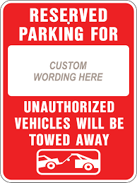reserved sign templates beautiful reserved parking template large no signs custom stock