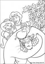Small Picture Aladdin coloring pages on Coloring Bookinfo