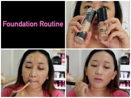 full coverage foundation routine katvond makeup forever hd you