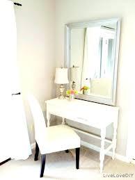 Small Vanity Table For Bedroom Corner Bedroom Vanity Vanities Small ...