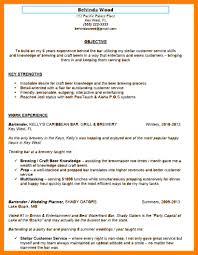 Bartender Resume Template. entry level bartender resume. neoteric ...