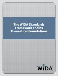 Wida Growth Charts The Wida Standards Framework And Its Theoretical