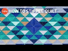 How to stipple quilt   Easy free-motion quilting design with ... & How to stipple quilt   Easy free-motion quilting design with Angela Walters Adamdwight.com
