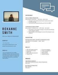 Modern Resume Formate Light Blue Modern Resume Modern Resume Template Modern