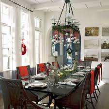 chandelier decorated for via coastalliving