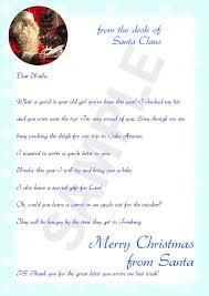 sample letters letter format writing sample letters from santa sample letters from santa