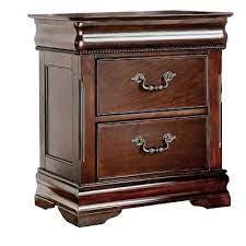 Cherry Nightstands Bedroom Furniture The Home Depot