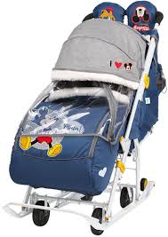 <b>Санки</b>-<b>коляска Nika Disney</b> baby 2 (Ника Дисней Беби 2) в ...
