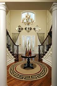 how to decorate a foyer stunning design for round foyer tables ideas foyer table ideas foyer