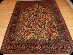 persian qum rug tree of life