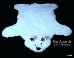 bear skin rugs for baby best fur accents faux sheepskin and throw brown bear skin rugs for