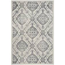 safavieh carnegie cream light gray area rug common 8 x 10 actual