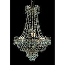 cologne 8 light crystal gold plated chandelier st00224 40 08 g
