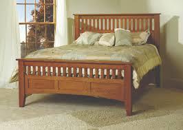 Mission Bedroom Furniture Mesa Verde Bed Gishs Amish Legacies