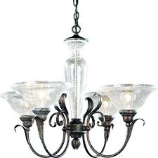 smart inspiration seeded glass shade replacement installed interior chandelier clear lipless